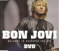 Cover Bon Jovi - Welcome To Wherever You Are [DVD]